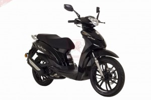 skuter Romet Black City 125  Raty0  Transport